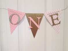 Highchair banner I am one banner by Cresscreativecrafts on Etsy