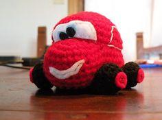 Ravelry: Tiny car - amigurumi toy crochet pattern in English pattern by Cecilia - Siempre Josefina