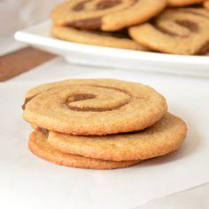 Pumpkin Pinwheel Cookies