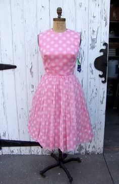 pretty in pink - vintage so cute