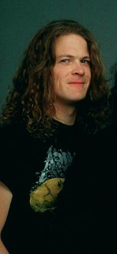 Jason Newsted - great bassist & love that smile!