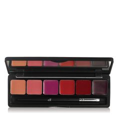 NEW: Runway Ready Lip Palette contains six runway inspired must-have lip colors!