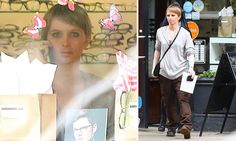 Things looking up for Chelsea Manning as she is seen in NYC #DailyMail