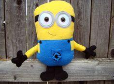 Minion plush Stuffed minion Despicable Me