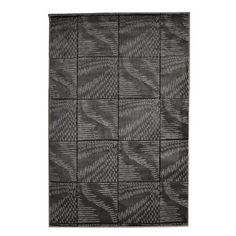 Oh! Home Milan Collection Black/ Grey Abstract Area Rug (8' x 10'3)