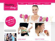 Fitness Website Visit www.StudioGrfx.com to view my portfolio #websitedesign #graphicdesign #graphic #studiogrfx