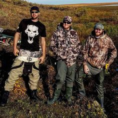 We're back in civilization! We had a great time hunting the Alaskan Tundra! Our pilot snapped this one before we flew out.  The boys are flying home and I'm heading out across British Columbia Canada towards home!