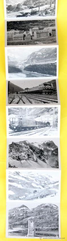 Postales: Coleccion de diez postales, desplegable, El Canfranc y la Frontera de F.de las Heras - Foto 5 - 32629114