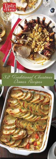32 Traditional Christmas Dinner Recipes