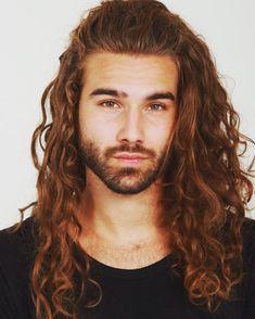 Ken Stoffers / curly hair inspiration / men with curly hair / curly hair for men / long curly hair / long hair men / free the curls / rizos / cachos / cabelo cacheado masculino / inspiração