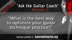 """http://ioannis.org/ Welcome to my guitar-learning podcast:  """"Ask the Guitar Coach"""" - the ONLY podcast where we answer YOUR questions about learning guitar, Music Business and everything in between!    To subscribe in iTunes:  http://itunes.apple.com/gr/podcast/ioannis-anastassakis-podcast/id842921268"""