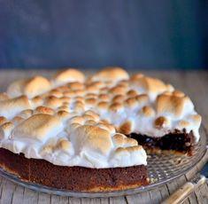 Franciska Beautiful World: S'mores Cake - Totally irresistible good!