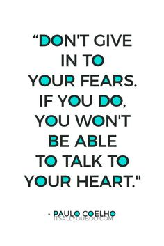 Fear is keeping you from what you want the most. Do not give in. Learn to listen to your heart instead. Click here to learn why understanding, not overcoming fear, helps you achieve your goals. #goalslayerseries #fearless #success #courage #nothingtolose #loa #howtobefearless #befearless #quotes #quoteoftheday #quotestoliveby #quotestoremember #advicequotes #motivationalquotes #motivation #quotestoinspire #entrepreneurquotes #qotd #lifequotes #lifequote #wordsofwisdom