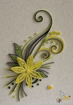 Neli is a talented quilling artist from Bulgaria. Her unique quilling cards brin… Neli is a talented artist from Bulgaria. Neli Quilling, Quilled Roses, Paper Quilling Cards, Paper Quilling Flowers, Quilling Comb, Paper Quilling Patterns, Origami And Quilling, Quilled Paper Art, Quilling Craft