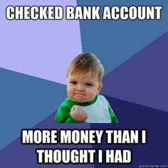 This happened to me the other day when I received a government student return into my bank account