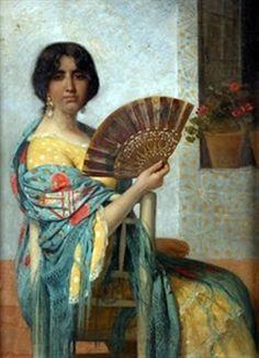 Juan Antonio Benlliure y Gil (Valencia, 1859 - 1930). Era hermano del escultor Mariano Benlliure y del también pintor José Benlliure.
