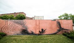 New Murals by DALeast Seem to Explode with Energy