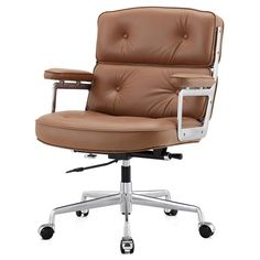 M310 Office Chair In Aniline Leather Color Options