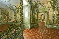 Goëss Apartment - Schönbrunn Palace: paintings by Johann Wenzel Bergl and his…