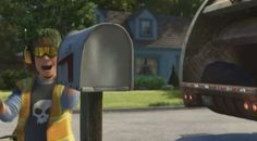 In Toy Story Sid from Toy Story makes a cameo as a garbage man. 19 Little Disney Movie Details That Will Blow Your Damn Mind Walt Disney, Disney Home, Disney Pixar, Toy Story 3, Pixar Movies, Disney Movies, Inside Out Riley, Jessie Doll, Disney Buzzfeed