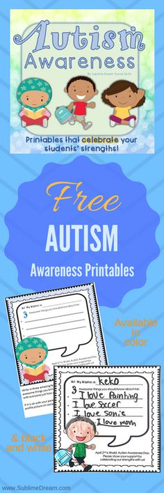 """How Will You Celebrate? This post may contain affiliate links Are you looking for a fun way to celebrate World Autism Awareness day? I have got you covered with the newest freebie! I know many people are starting to lean more towards Autism Acceptance (as am I), and so I wanted to make a positive … Continue reading """"Freebie: Download Autism Awareness Printables for Social Media Sharing!"""""""