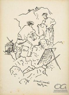 Martin Benka, Lámači kameňa 1940 - 1960