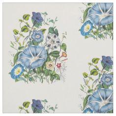 Morning Glories Fabric