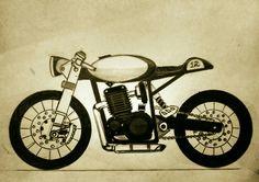 bikes motorcycle sketch