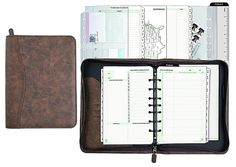 Day-Timer Distressed Look Starter Set Organizer, Undated, 7 Ring, Desk Size, x Brown 2 Pack Best Planners, Day Planners, At A Glance Planner, Free Printable Flash Cards, Memory Games For Kids, School Planner, Passion Planner, Personal Organizer, Calendar Pages