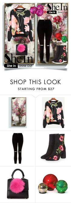 """""""Untitled #815"""" by suad-nisveta-mesic ❤ liked on Polyvore featuring beauty, Ballard Designs, New Look, Topshop, Les Petits Joueurs and Improvements"""