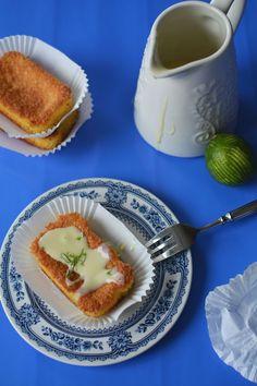 lemon-polenta cakes