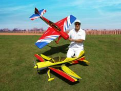 The new Sukhoi 29S 30E ARF was designed by Italy aerobatic pilot, Sebastiano Silvestri. The design is based on his new competition giant scale plane Sukhoi 29S. This professional ARTF kit is the result of Sebastianos long research in 3D performance and precision aerobatics. Aero-Model.com