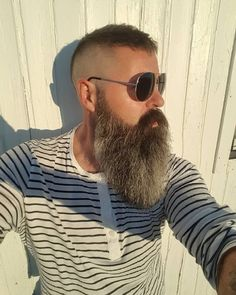 Long Beard Styles, Beard Styles For Men, Hair And Beard Styles, Goatee Styles, Older Men Haircuts, Older Mens Hairstyles, Beard And Mustache Styles, Beard No Mustache, Grey Beards
