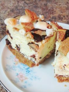 Speculoos S'mores Cheesecake Bars | The Spiffy Cookie