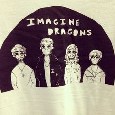 Yeah, yeah, I already have an Imagine Dragons shirt. But can't I have two?