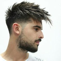 45 Trendy Spiky Hairstyles For Men Guide) Spiky Hair Long Fringe – Best Spiky Hairstyles For Men: Cool Spiky Hair, Cuts and Styles – Short, Medium, Long Spiky Haircuts Mens Hairstyles Fade, Undercut Hairstyles, Haircuts For Men, Fall Hairstyles, Funny Hairstyles, Men's Haircuts, Men Undercut, Popular Haircuts, Men's Hairstyles