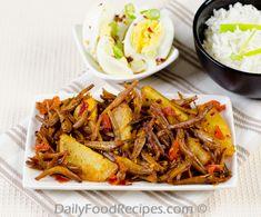 Sri Lankan Dried Sprats Stir Fry (Haal Masso Thel Dhala)