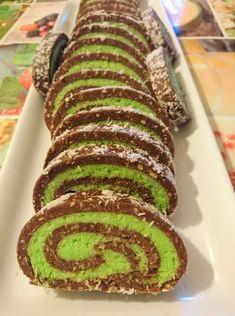 marcipanos-keksztekercs-sutes-nelkul-kenyeztetesul-mert-ez-maga-a-mennyorszag Sweet Desserts, Sweet Recipes, Delicious Desserts, Cake Recipes, Dessert Recipes, Yummy Food, Hungarian Desserts, Hungarian Recipes, Cakes Plus