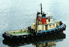 rc model boats | radio controlled scale model boats, tugs and ships. For those ...
