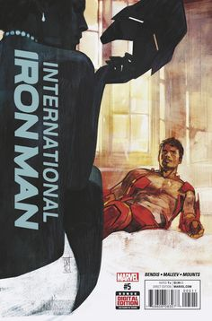 INTERNATIONAL IRON MAN #5 Brings Tony One Step Closer to His Birth Parents! marvel comics cover