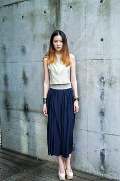 Streetstyle: Irene Kim in Hexa by Kuho shot by...