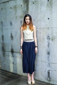 Streetstyle: Irene Kim in Hexa by Kuho shot by...