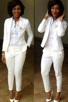 Or all white...