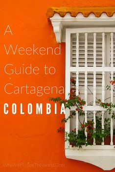Discover Cartagena, Colombia with this weekend guide including things to do in Cartagena, what to eat and where to stay. #cartagena #whywait #colombia
