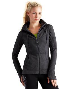 LINK : https://yroo.com/af/1446520/ruid/21327 Athleta Womens Strength Hoodie Size M - Charcoal heather | 29% OFF