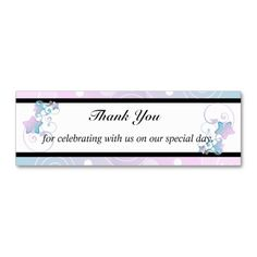 Wedding Thank You   Bubble Star Fairy Tale Business Cards