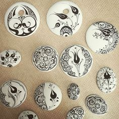 Can not love the work of people asar # chinaitakı # China 🌷design - Jewelry Jewelry Crafts, Jewelry Art, Ceramic Tile Art, Potters Clay, Ancient Mesopotamia, Dyi Crafts, China Painting, Japanese Pottery, Art Object