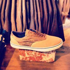 wood grain shoe by Converse via @happymundane on Instagram