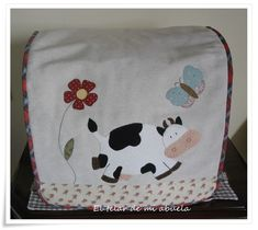 FUNDAS DE THERMOMIX Decoupage, Toaster Cover, Diaper Bag, Quilts, Sewing, Creative, Bags, Couture, Scrappy Quilts