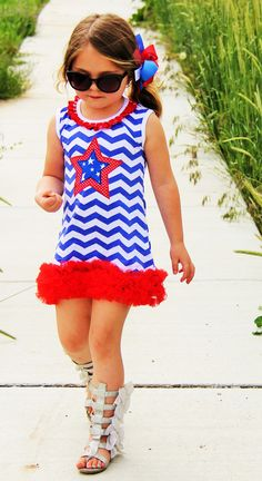 Superstar 4th Of July Dress #4th-of-july-attire #boutique-outfits #daily-deal…